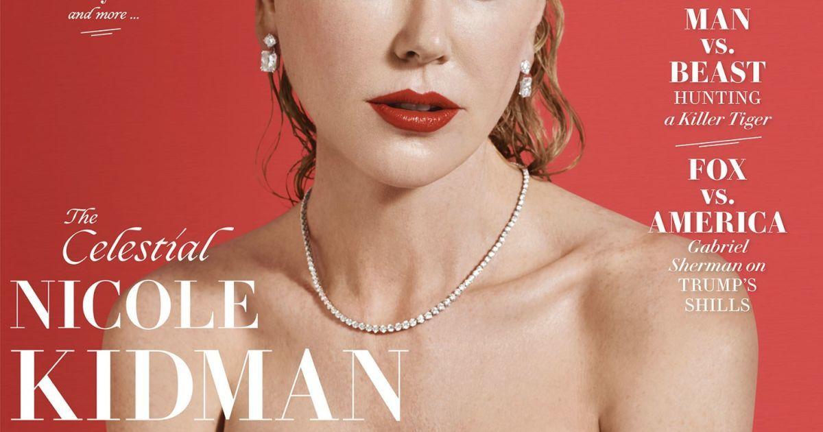 Николь Кидман постриглась «под мальчика» иобнажила грудь