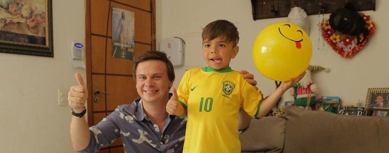 Дмитро Комаров зустрінеться з наймолодшою зіркою бразильського футболу