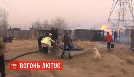 Пожежі на Забайкаллі: 30 росіян з опіками шпиталізували