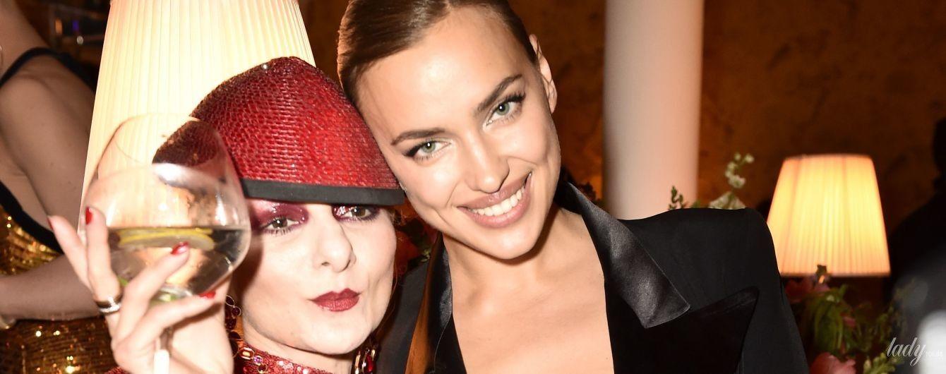 У спідній білизні та у компанії травесті-дів: Ірина Шейк на вечірці в Парижі