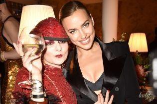 В нижнем белье и в компании травести-див: Ирина Шейк на вечеринке в Париже