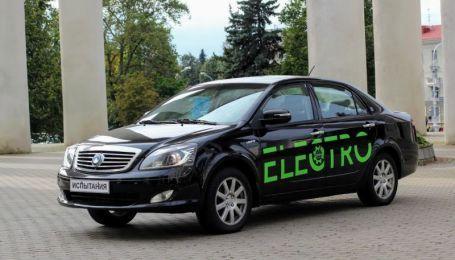 В Беларуси создали три модели электрокаров