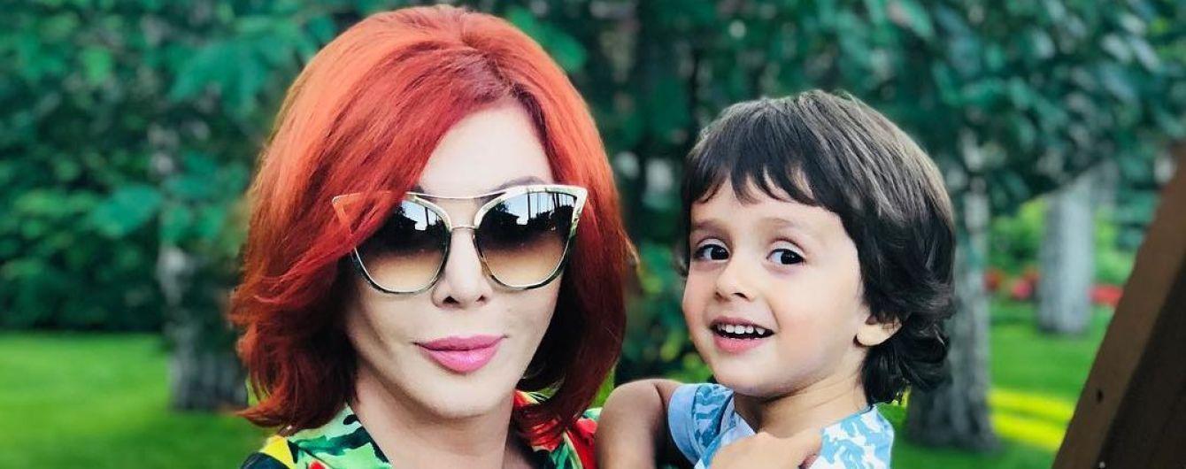 Ирина Билык показала, как вырос ее сын Табриз