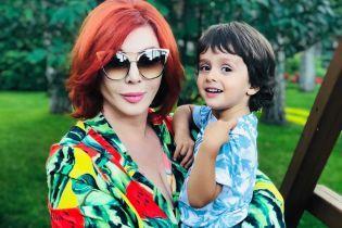 Ірина Білик показала, як виріс її син Табріз