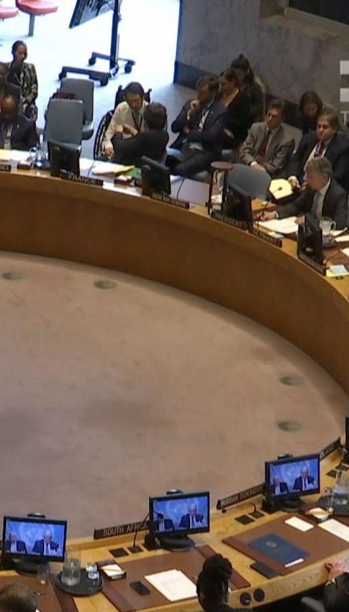 На Совбезе ООН Москву в очередной раз призвали прекратить финансовую и военную поддержку сепаратистов
