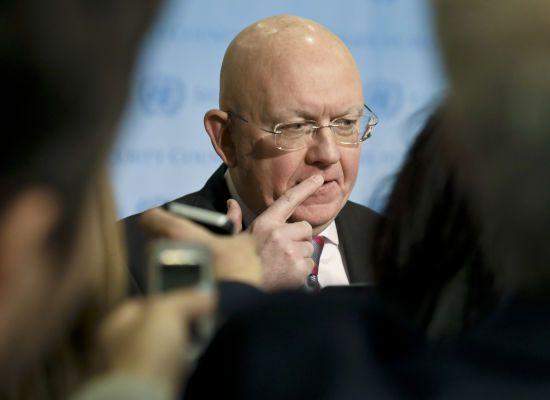Росія не займається повзучою анексією Донбасу – постпред РФ в ООН про видачу паспортів