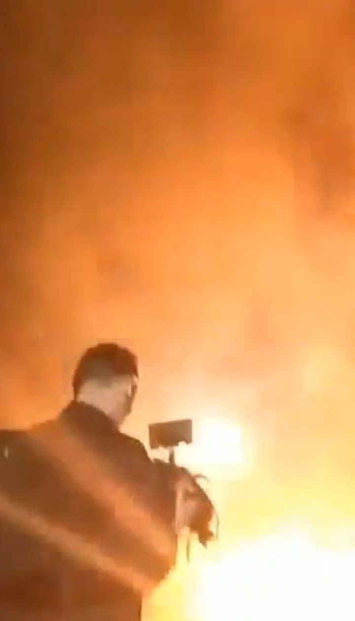 Активісти пікетували дім Луценка через пом'якшення підозри Мангеру