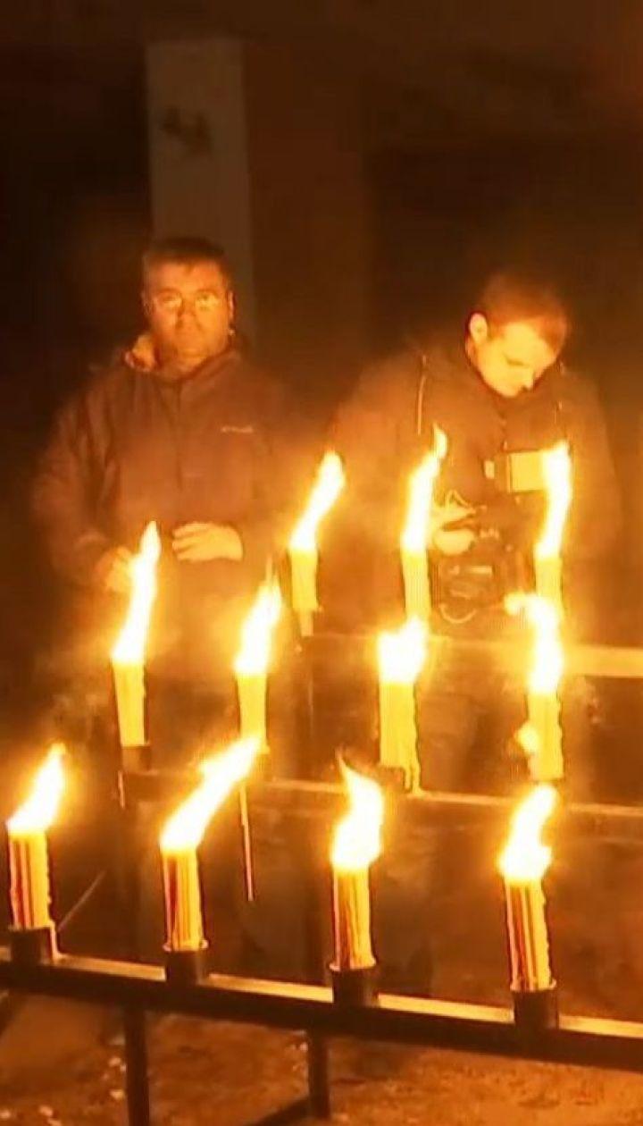 В Припяти устроили акцию памяти в честь годовщины взрыва на Чернобыльской АЭС