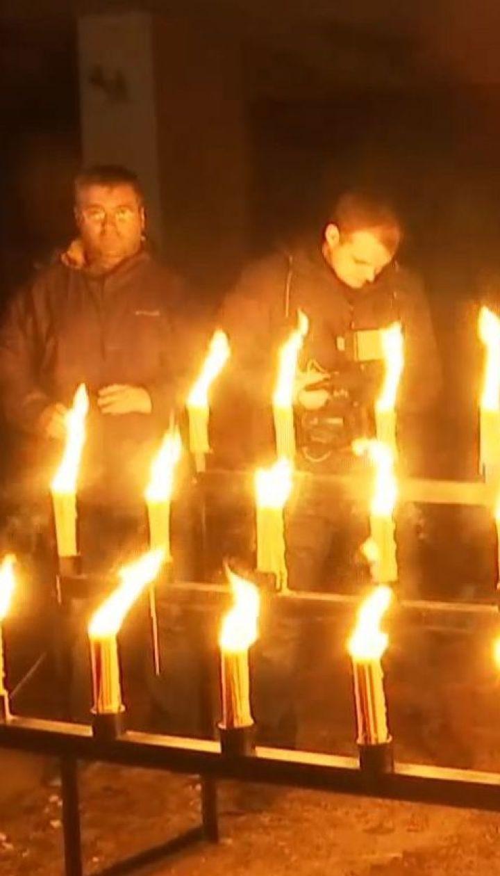 У Прип'яті влаштували акцію пам'яті на честь роковин вибуху на Чорнобильській АЕС
