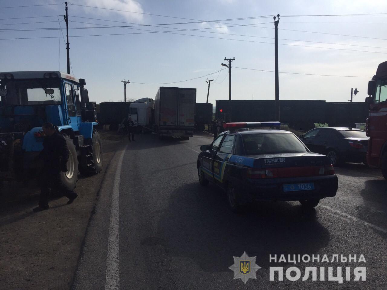 вантажівка, потяг, аварія, залізниця 2