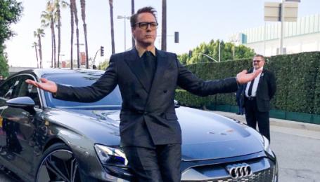 """Электрокар Audi e-tron GT засветили на презентации """"Мстителей"""""""