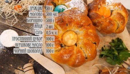 Пасхальные булочки с шоколадом - рецепты Руслана Сеничкина