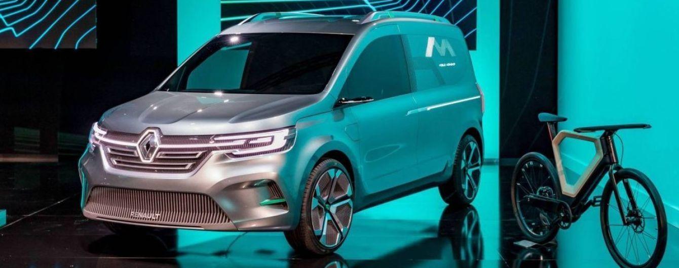 Renault засвітив на відео електрокар на базі Kangoo