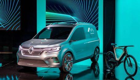 Renault засветил на видео электрокар на базе Kangoo