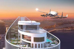 """Первый в мире небоскреб с """"скайпортом"""" для аэромобилей возводят в Майами"""