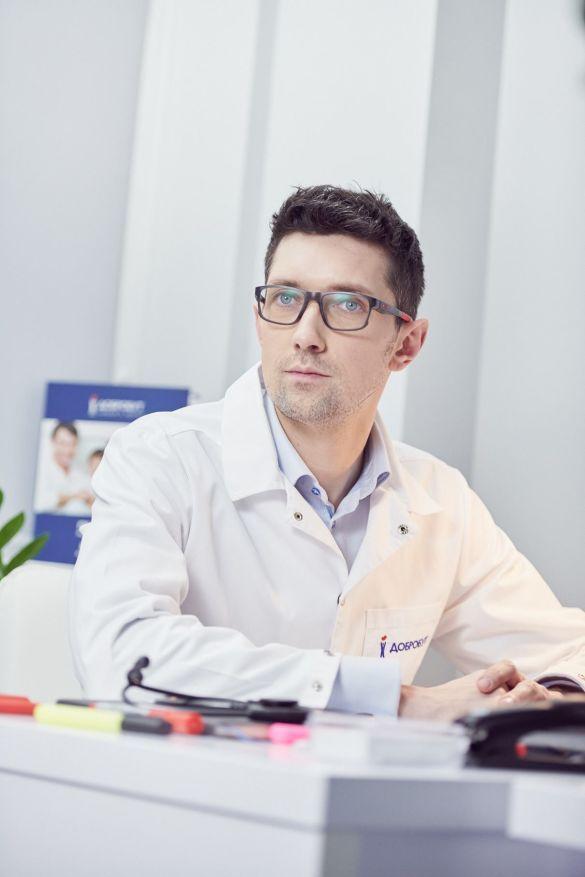 """Александр Стаховский, уролог, онколог, онкохирург высшей категории медицинской сети """"Добробут"""