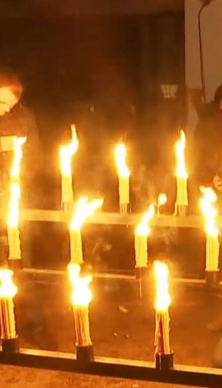 У Прип'яті влаштували акцію пам'яті на честь роковин вибуху на ЧАЕС