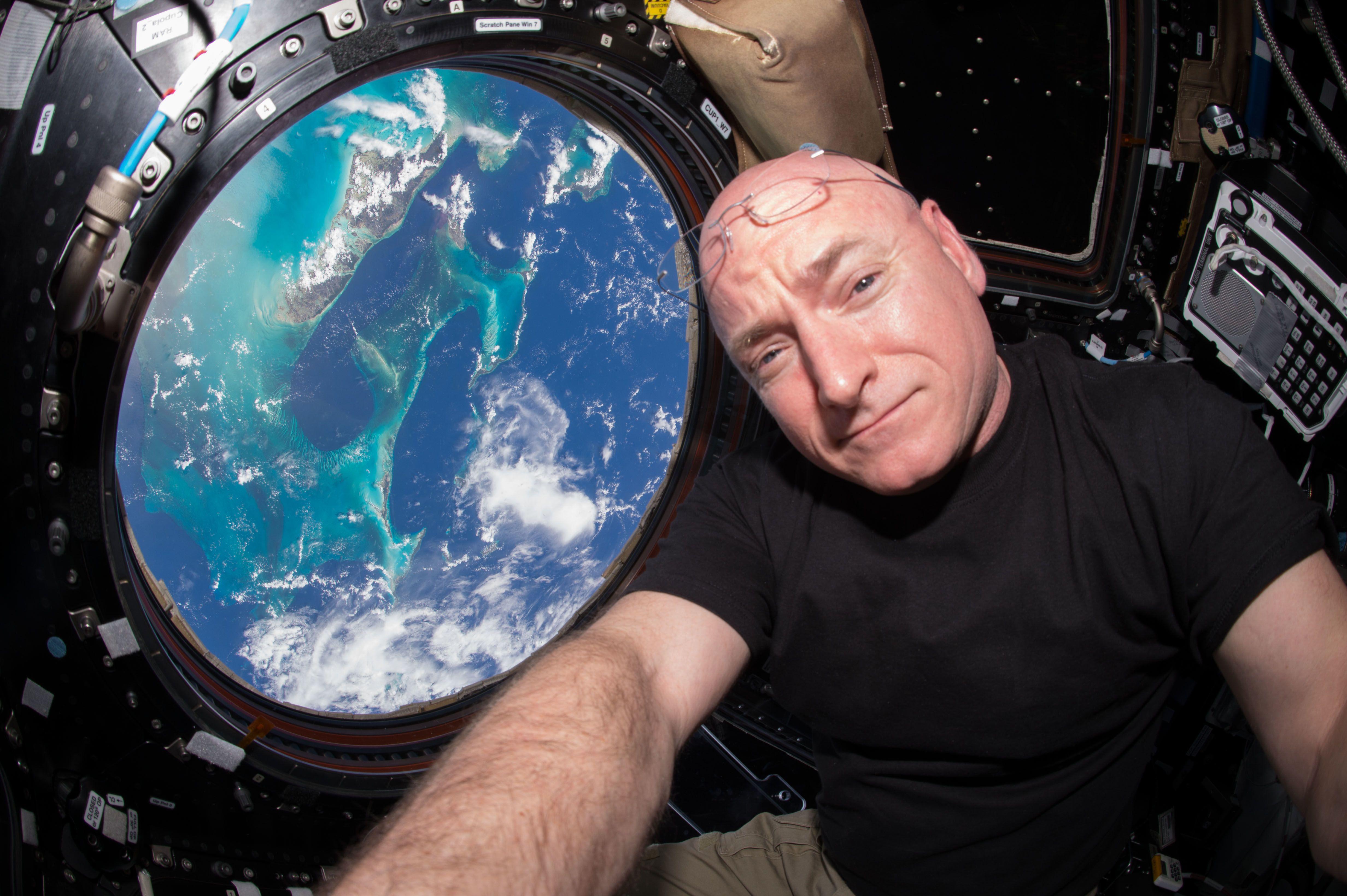 міжнародна космічна станція, скотт келлі_1