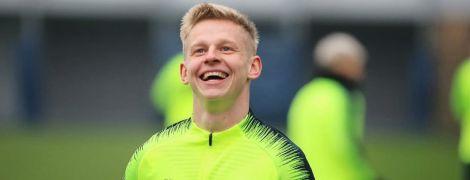 """""""Бідолашний Зінченко"""". Футболіст """"Манчестер Сіті"""" дотепно затролив українця маленькою дитиною"""