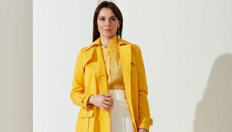 Тренчі з накладними кишенями і спідниці-годе у колекції українського бренду
