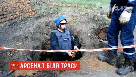 Целый арсенал боеприпасов для тяжелой артиллерии обнаружили на Николаевщине