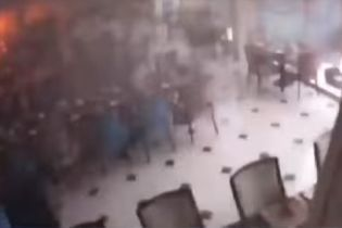 З'явилося відео підриву терориста-смертника в готелі на Шрі-Ланці