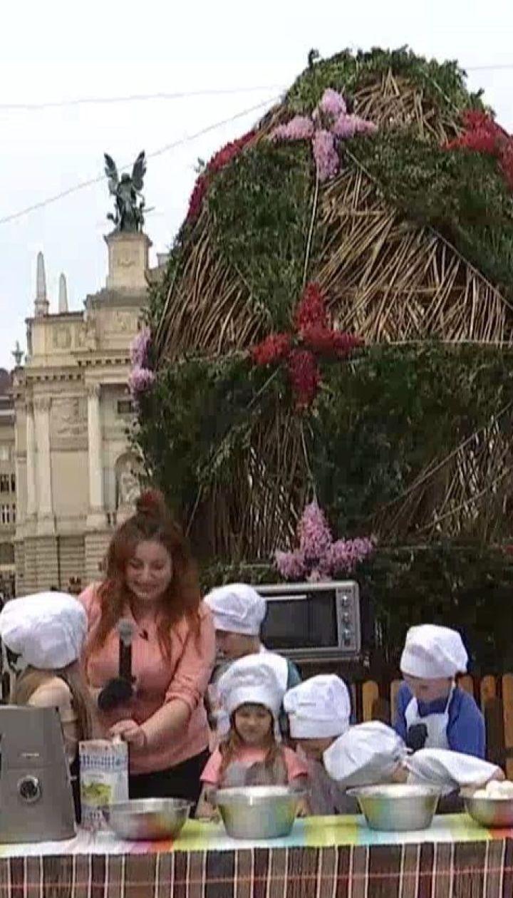 У Львові відкрили великодній ярмарок із святковими наїдками і сувенірами