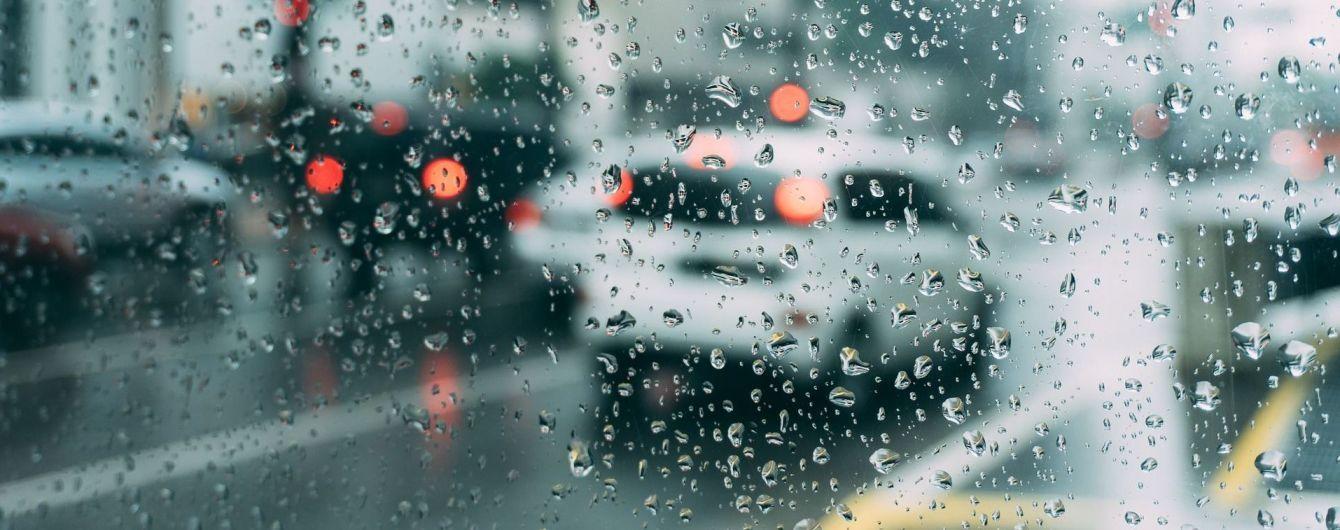 Погода на пятницу: дожди продолжают заливать страну