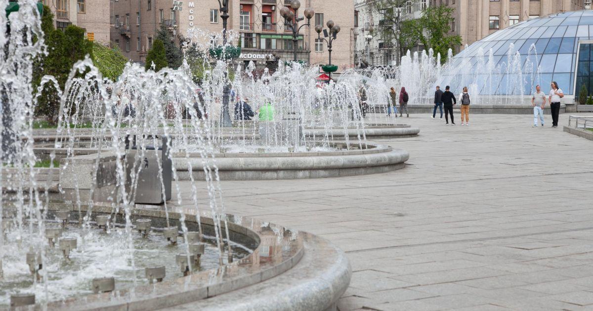 В КМДА повідомили, коли запрацюють столичні фонтани