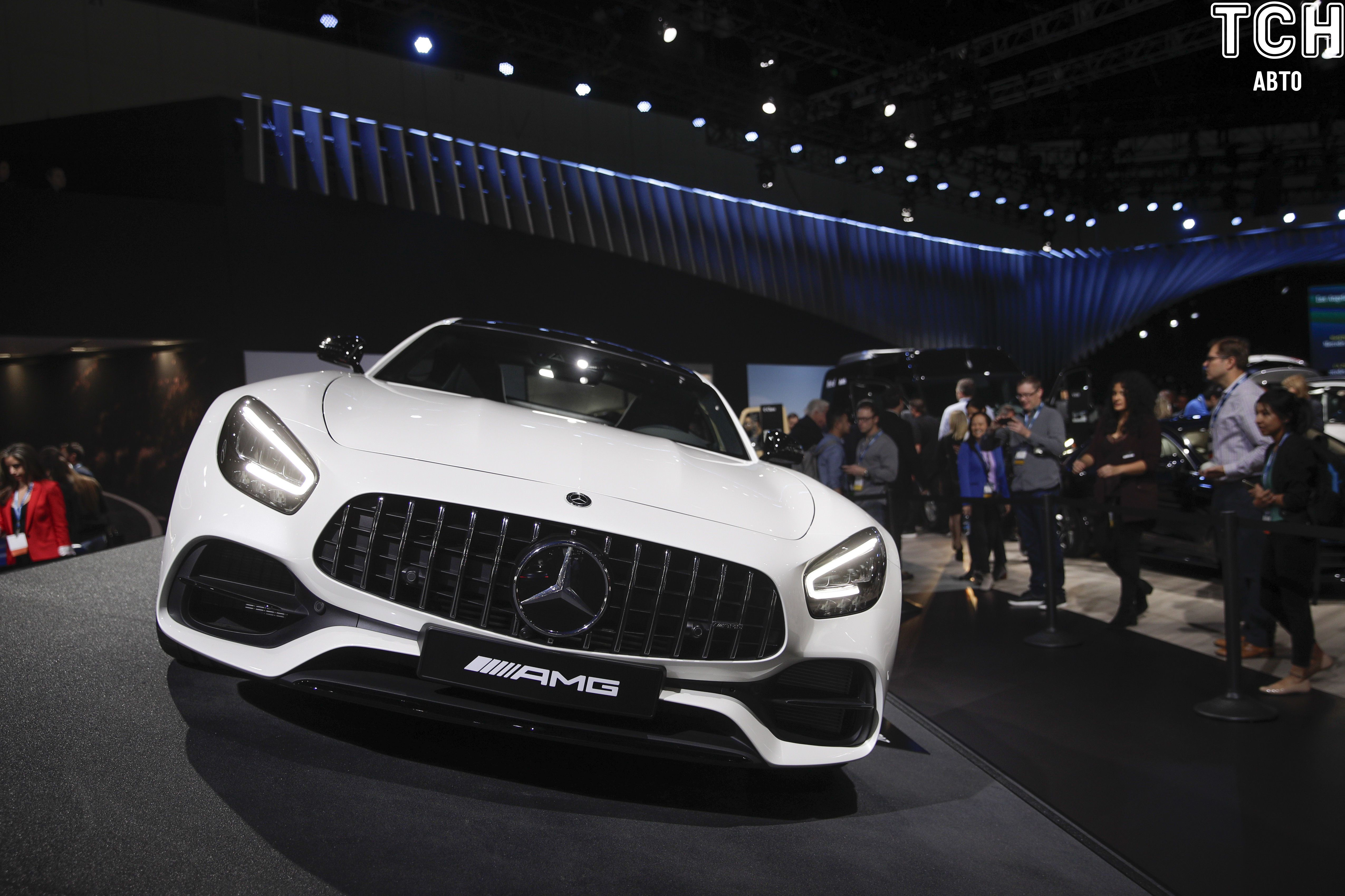 The 2020 Mercedes-AMG GT