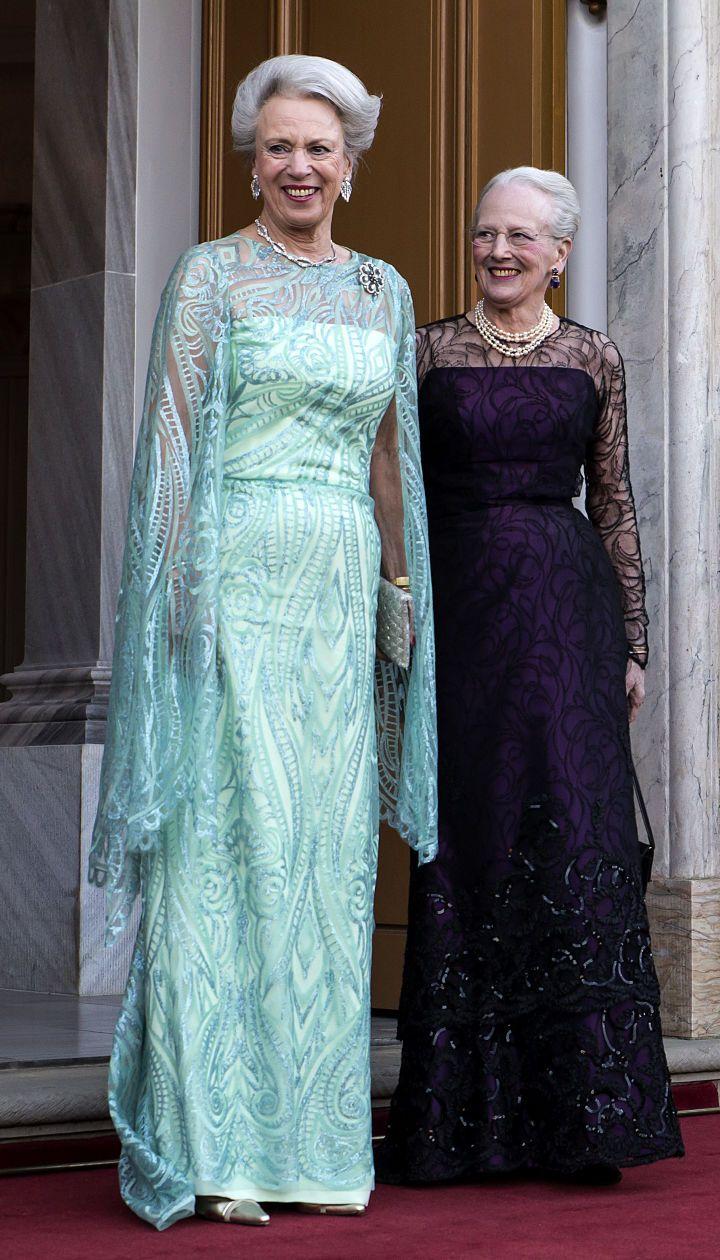 Принцесса Бенедикта и королева Маргрете