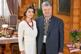 Красивая и стильная: четыре эффектных образа Марины Порошенко