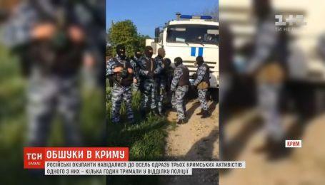 Российские оккупанты вновь провели обыски у крымских татар
