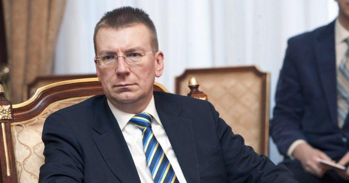 """""""Дзвінки стурбованості"""" та ескалація на Донбасі: глава МЗС Латвії розтлумачив, що значить розмова Байдена з Путіним"""
