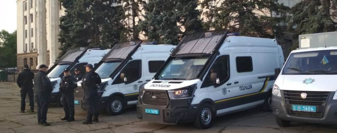 В Одесі під час заходів 2 травня майже три тисячі правоохоронців нестимуть посилену службу