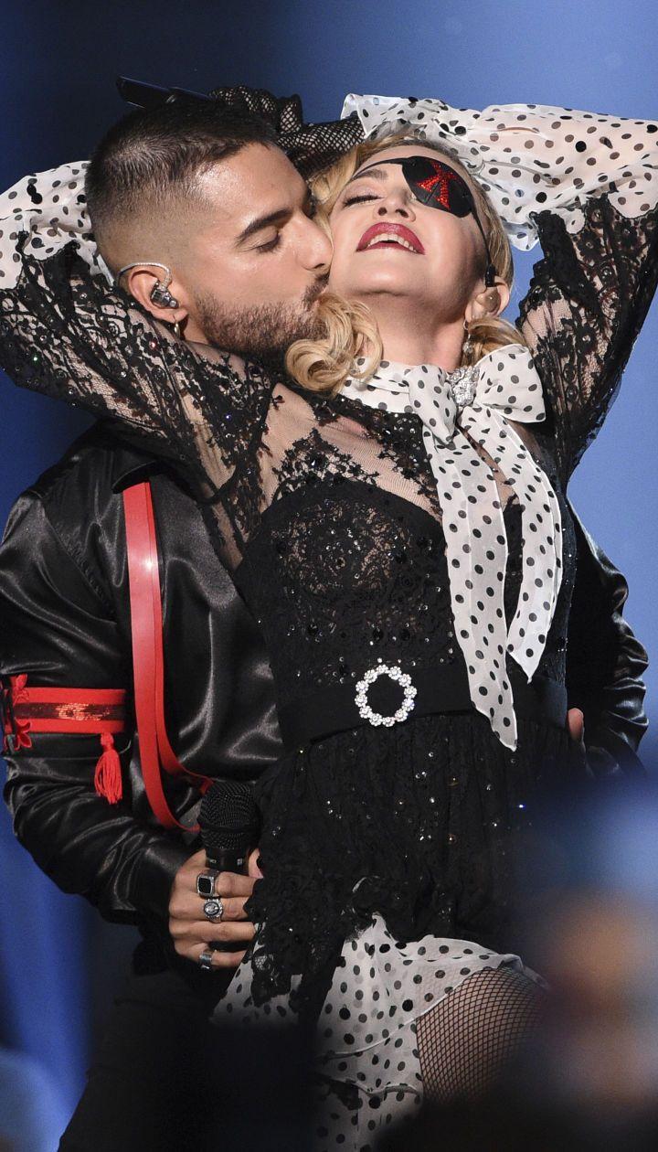 Мадонна та Maluma
