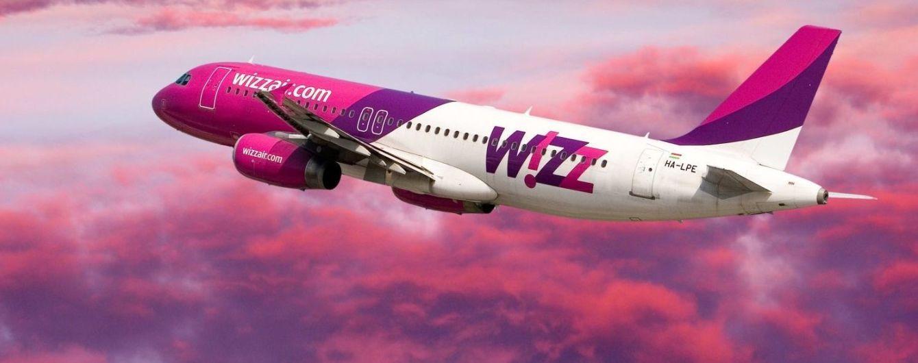 Wizz Air вимушено скасує у серпні частоту польотів з України