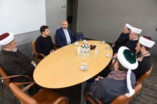 Зеленский встретился с духовными лидерами мусульман Украины