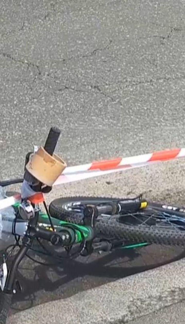 У Києві вантажівка на смерть збила хлопця на електровелосипеді