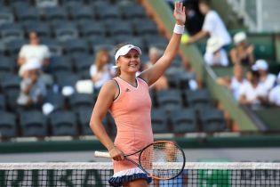 Козлова відмовилася виходити на матч проти Світоліної на Roland Garros