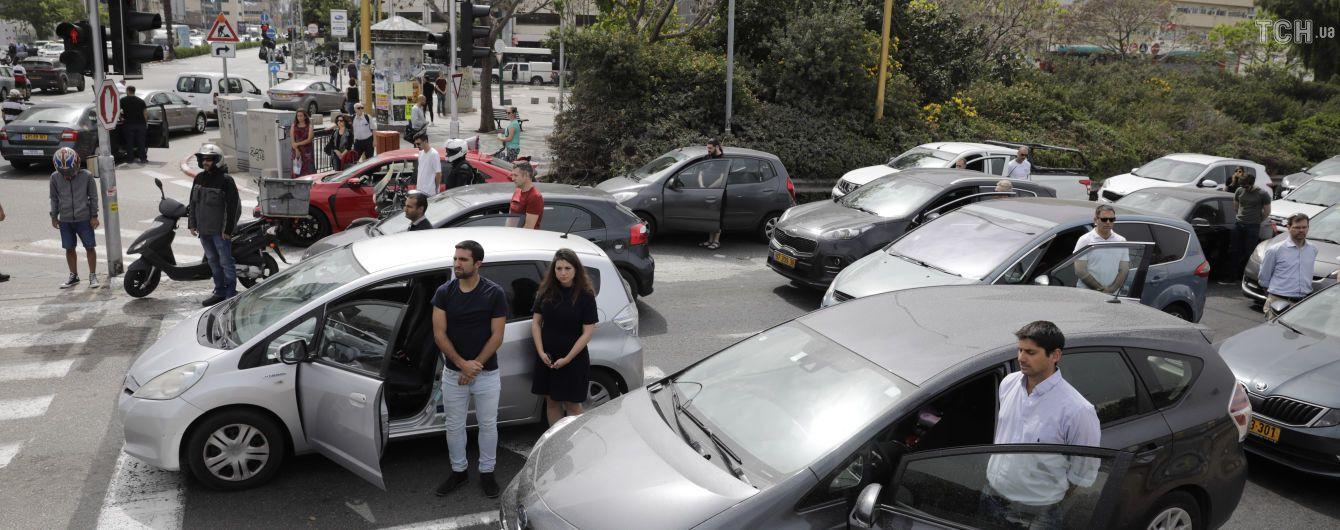 Израиль замер в почтении жертв Холокоста
