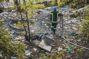 В Киеве во время пожара в коллекторе погибли двое бездомных