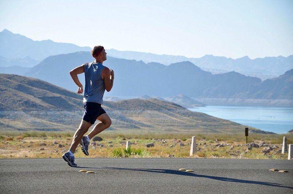 Біг, пробіжка, спорт