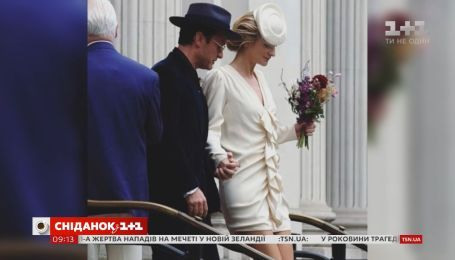 46-летний актер Джуд Лоу женился во второй раз