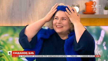 Наталья Подлесная получила сюрприз от зрительницы Сніданку Светланы Масевич