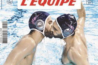 Известный спортивный журнал разместит на обложке спортсменов, которые целуются