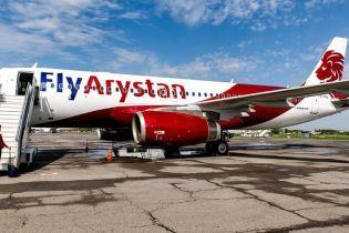 В Казахстане совершил первый рейс новый лоукостер FlyArystan
