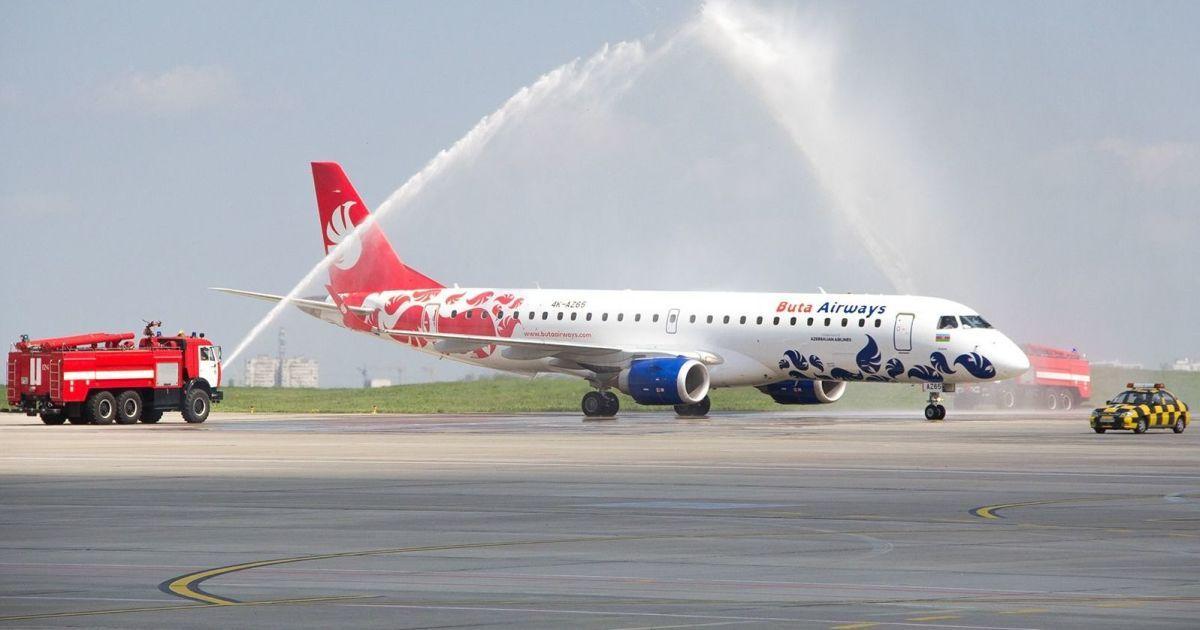 Азербайджанський лоукостер Buta Airways відкрив новий рейс з Харкова до Баку