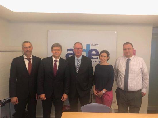 Радники Зеленського домовились про підтримку західних партнерів у Брюсселі