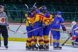 Збірна України зганьбилася з румунами на Чемпіонаті світу з хокею